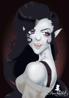 Marceline Vampire Queen by AnaMadeIt