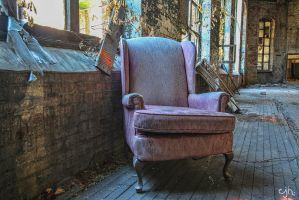 Abandoned Lace Company - Chair by cjheery