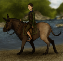 Elrenia and Kelpie by ElreniaGreenleaf