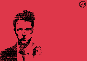 Fight Club with letters. by ReachingUtopia