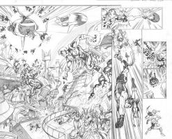 Legion 15 double spread by Cinar