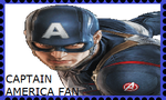 Captain America Stamp by WOLFBLADE111