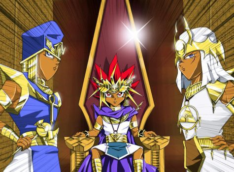 YGO stories part 5 : Pharaoh and Priests by Inakunaru-Yagi