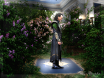 Loki in the Garden by Narryaque