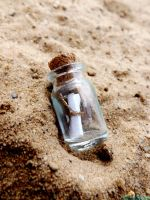 Message in a bottle by IamNasher