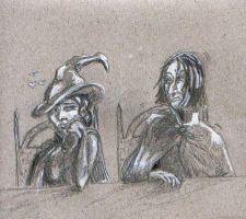 Watch out Snape by Dinahleit