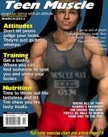 Teen Muscle Mag March by GreysonFurrington