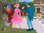 Stephanie and Sportacus in Wonderland by Toongirl18
