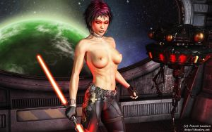 Topless Sith by Dendory
