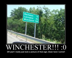 The Winchester Sign by Ladder19Georges