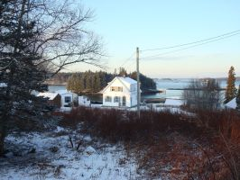 Winter in Maine 002 by mirengraphics