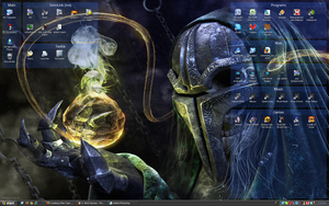 my Desktop by GrimLink