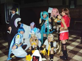 VOCALOID cosplay group by cosplayluvx3