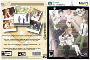 Katawa Shoujo Game Box Cover design by PrimPalver