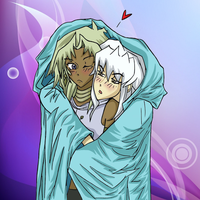 Thiefshipping with Blankets-colored by strawberry555