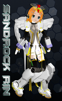 MMD LAT Sandrock Rin Append by Trackdancer