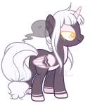 Ghost Pony adopt by LullabyPrince