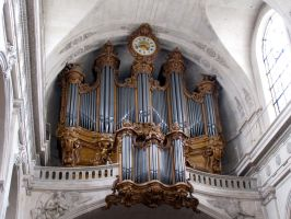 St Roch church - pipe organs by kwizar
