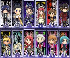 Complete P3 bookmark Set by raidenokreuz76
