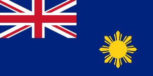 Flag of British Philippines by kyuzoaoi