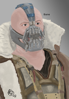 Bane (Tom Hardy) - The Dark Knight Rises by CripZx