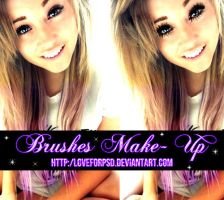 -.Brushes Make-Up by LoveForPsd