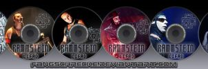 Rammstein CD collection by Fangschrecke