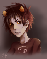 Karkat Vantas by Watchkey