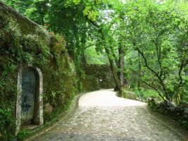 Quinta da Regaleira, magic pathway by Silinde-Ar-Feiniel
