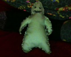 Day 3 - Oogie Boogie Plush by uhnevermind