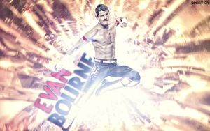 New WWE Wallpaper Evan Bourne By AW-Edition by AW-Edition