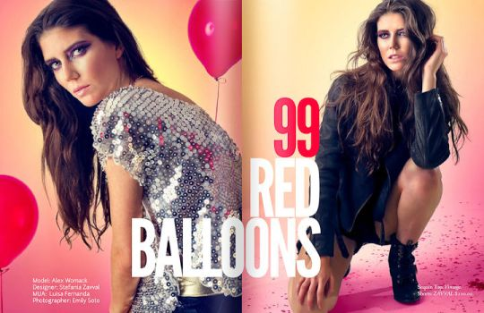 99 Red Balloons by EmilySoto