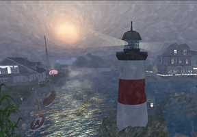 Lighthouse in Five Sisters by LydiaTremont