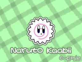 Naruto Kirby by clariecandy
