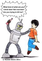 Futurama - Bender and Me by Rocket-Stevo