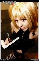 Death Note - Misa Amane by Redustrial-Ruin
