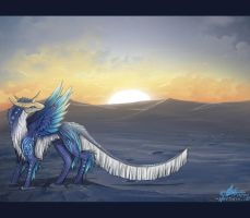 Melting Sunset. by Neytirix