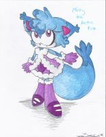 Misty the Arctic Fox by Lilymint7