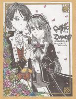Gothic Dream manga cover by ILICarrieDoll