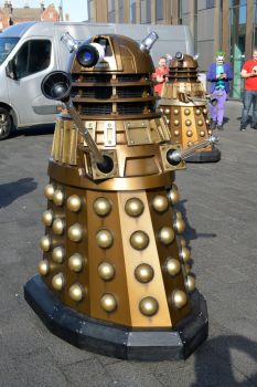 Daleks at Stoke-Con-Trent by masimage