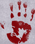Hetaoni Bloody Handprint by Sunchild9
