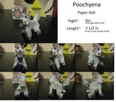 Poochyena Paper Doll by kunai-of-the-sand