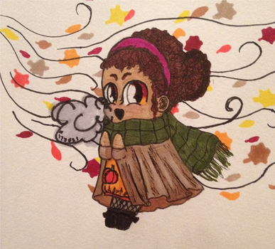 Fall Chibi! by Ispell2