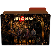 Left 4 Dead Folder Icon by H4temondays