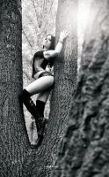 Adri in the forest by Boas73