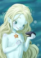 baby-mermaid by rerekina