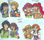 Brothers and JNPR by Nicktoons4ever