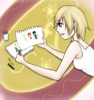 All Namine want for Christmas . . . by Kairime