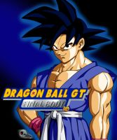 cover dragon ball gt final bout by Bejitsu