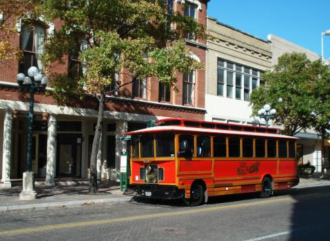 VIA San Antonio Trolley by YukariOro